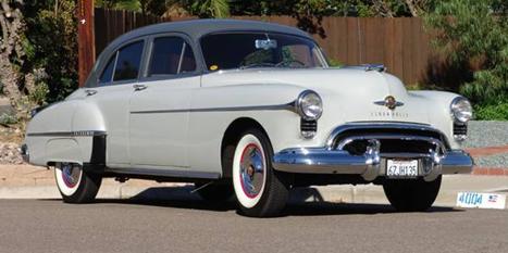 Oldtimer4sale 1950 Oldsmobile 88